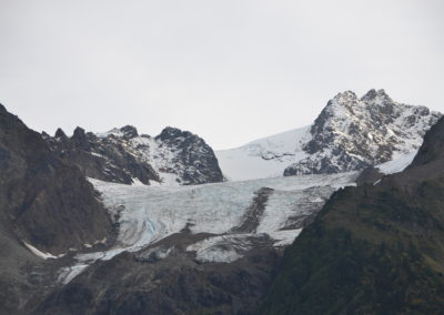 Many glaciers outside of Hyder